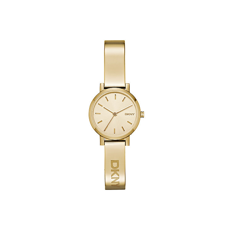 Dkny Soho Ladies' Gold Tone Champagne Bracelet Watch - Product number 3720608