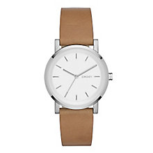 Dkny Soho Ladies' Stainless Steel Round Strap Watch - Product number 3720632