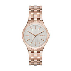 DKNY Park ladies' rose gold-plated bracelet watch - Product number 3720802