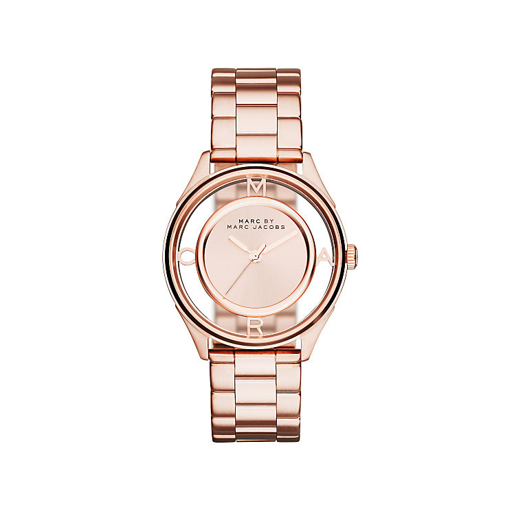 Marc Jacobs Tether Ladies' Rose Gold Tone Bracelet Watch - Product number 3721248