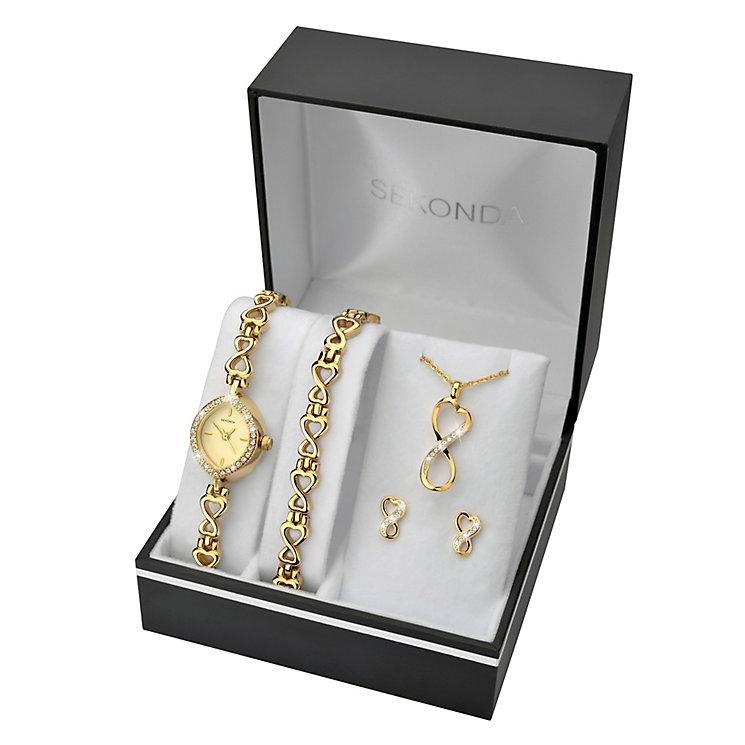 Sekonda Ladies' Bracelet Watch, Bracelet, Pendant & Earrings - Product number 3721612