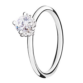 Chamilia Diva sterling silver  & cubic zirconia ring XS - Product number 3722449