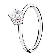 Chamilia Diva sterling silver  & cubic zirconia ring XL - Product number 3722457