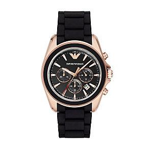 Emporio Armani Men's Rose Gold Tone Bracelet Watch - Product number 3723291