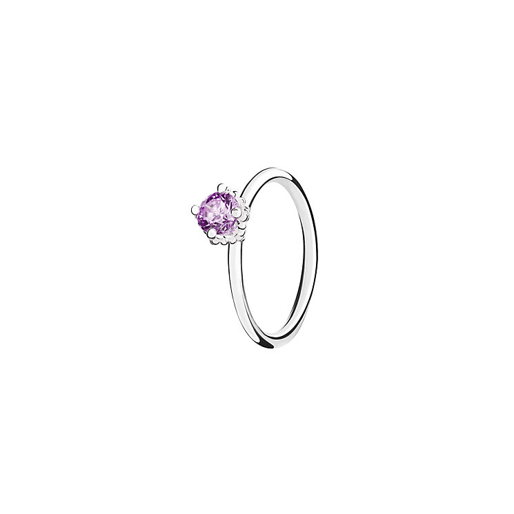Chamilia Diva sterling silver  & cubic zirconia ring XS - Product number 3724190