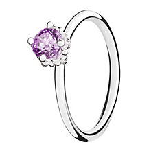 Chamilia Diva sterling silver  & cubic zirconia ring XL - Product number 3724220