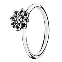 Chamilia Bloom Light Antique sterling silver ring XS - Product number 3724239