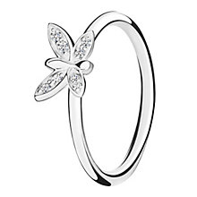 Chamilia Renewal sterling silver  & cubic zirconia ring XS - Product number 3724271