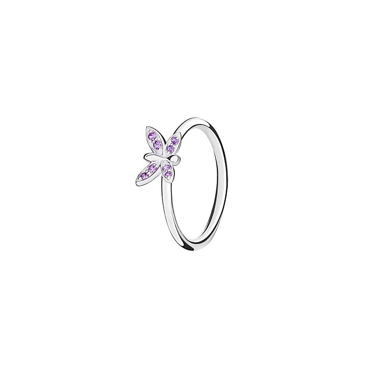 Chamilia Renewal sterling silver  & cubic zirconia ring XS - Product number 3724344