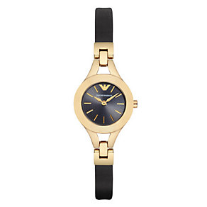 Emporio Armani Chiara ladies' gold-plated bracelet watch - Product number 3724824