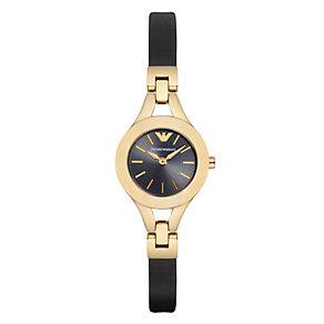 Emporio Armani Ladies' Gold Tone Bracelet Watch - Product number 3724824