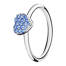 Chamilia Affection sterling silver & cubic zirconia ring XL - Product number 3724859