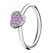 Chamilia Affection sterling silver & cubic zirconia ring XL - Product number 3724913