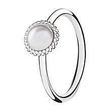 Chamilia Wisdom sterling silver & cubic zirconia ring XS - Product number 3725065