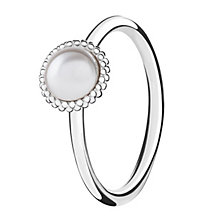 Chamilia Wisdom sterling silver & cubic zirconia ring XL - Product number 3725219