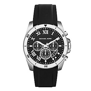 Michael Kors Brecken Men's Black Strap Watch - Product number 3725898
