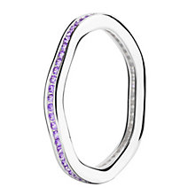 Chamilia Tranquillity sterling silver cubic zirconia ring XS - Product number 3725936