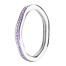 Chamilia Tranquillity sterling silver cubic zirconia ring XL - Product number 3725952