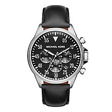 Michael Kors Gage Men's Stainless Steel Strap Watch - Product number 3725979