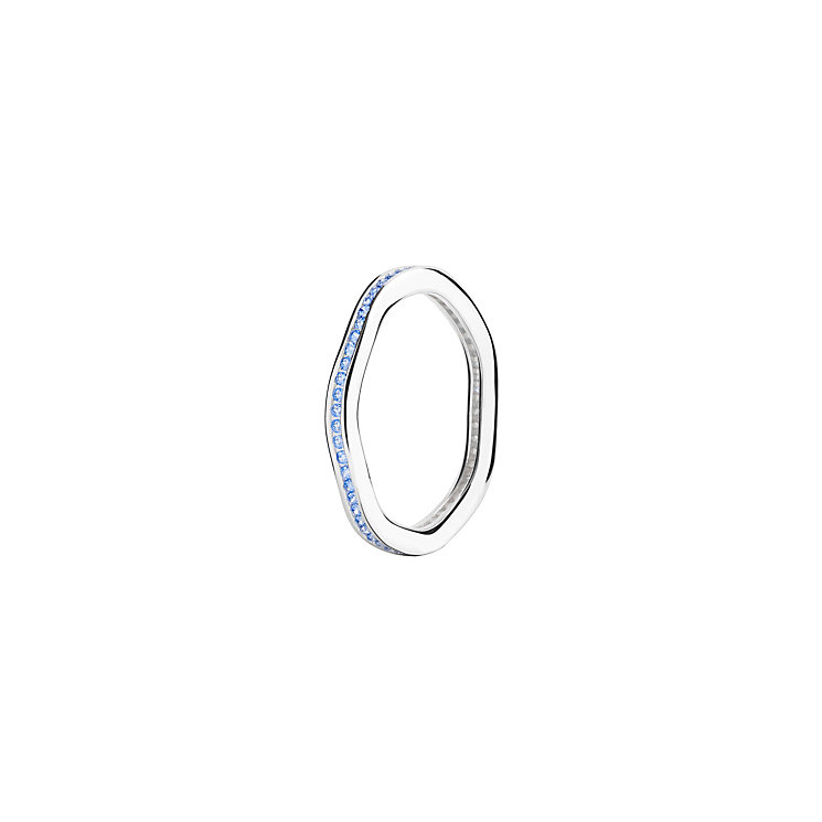 Chamilia Tranquillity sterling silver cubic zirconia ring XS - Product number 3725987