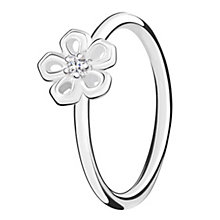 Chamilia Innocence sterling silver & cubic zirconia ring XS - Product number 3726061