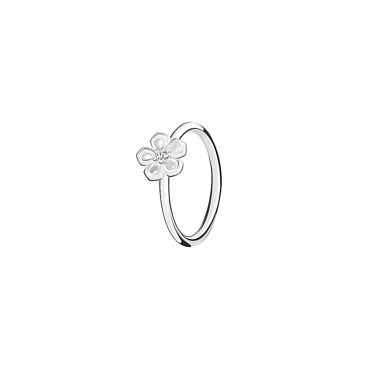 Chamilia Innocence sterling silver & cubic zirconia ring XL - Product number 3726088