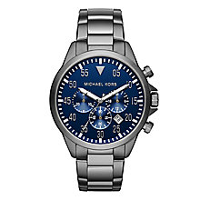 Michael Kors Gage Men's Stainless Steel Bracelet Watch - Product number 3726096