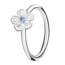 Chamilia Innocence sterling silver & cubic zirconia ring XS - Product number 3726282