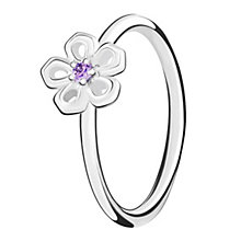 Chamilia Innocence sterling silver & cubic zirconia ring XS - Product number 3726363