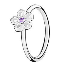 Chamilia Innocence sterling silver & cubic zirconia ring XL - Product number 3726401