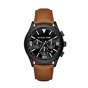 Michael Kors Gareth Men's Ion Plated Strap Watch - Product number 3726509