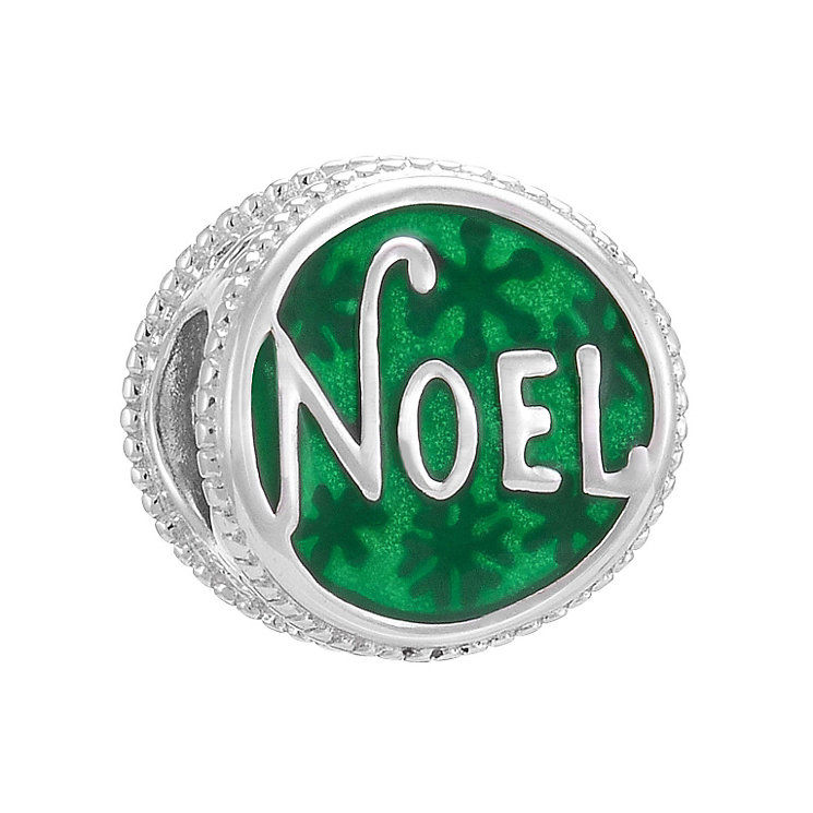 Chamilia Sterling Silver Green Noel Enamel Bead - Product number 3727777