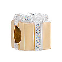 Chamilia Silver & Gold Plated Swarovski Crystal Bead - Product number 3727890