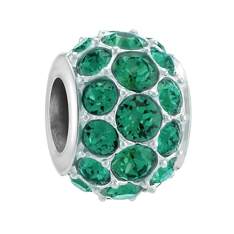 Chamilia Sterling Silver Splendour Emerald Swarovski - Product number 3728021