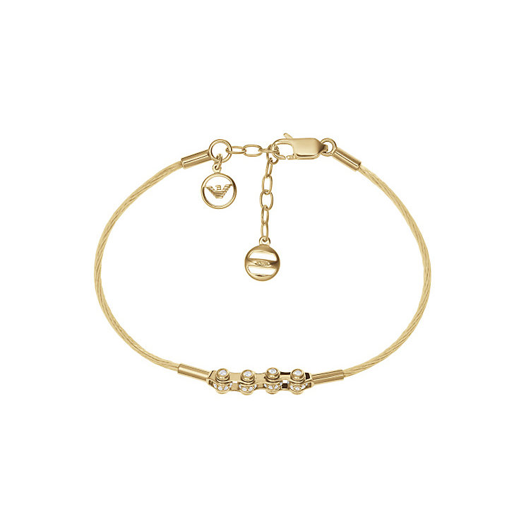 Emporio Armani 18Ct Gold Tone Bracelet - Product number 3729702