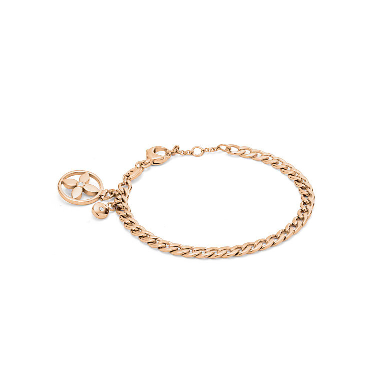 Fossil Classics rose gold-tone bracelet - Product number 3729877