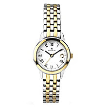 Accurist Ladies' Two Tone Stainless Steel Bracelet Watch - Product number 3732037