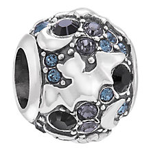 Chamilia Moon Beams sterling silver & Jet Swarovski charm - Product number 3732282