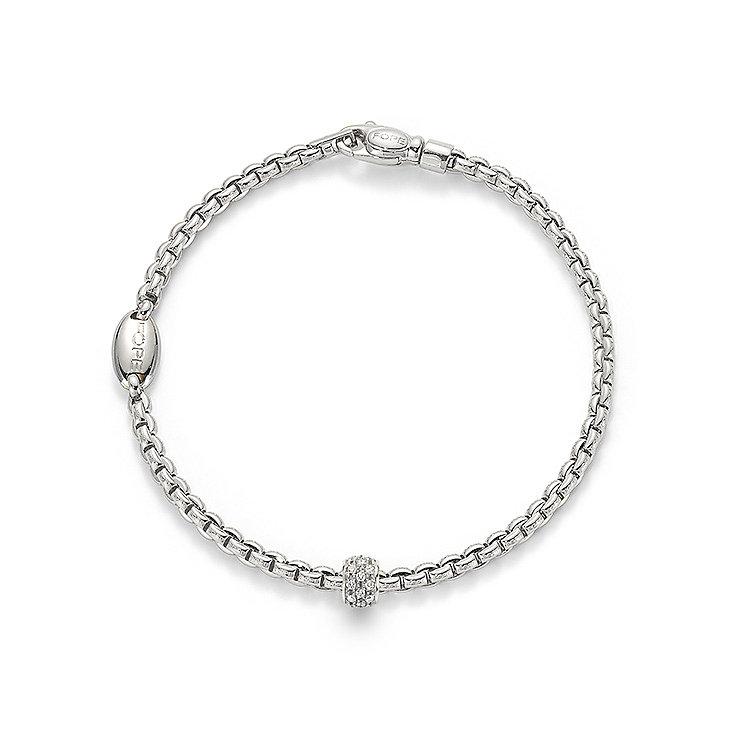 Fope Eka 18ct white gold link diamond bracelet - Product number 3732436