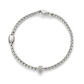 Fope Eka 18ct white gold link diamond bracelet - Product number 3732436