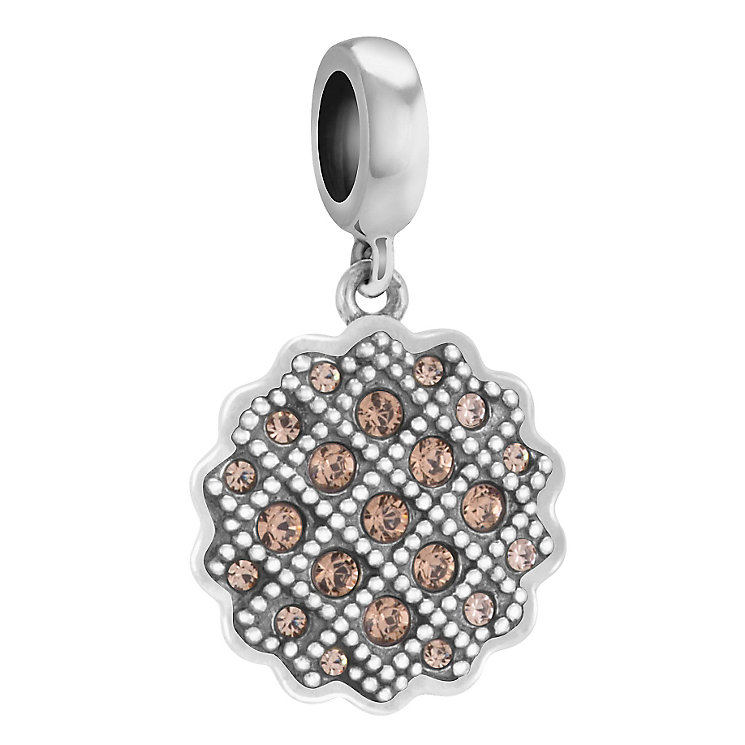 Chamilia Sweet Tart sterling silver Swarovski crystal charm - Product number 3732495
