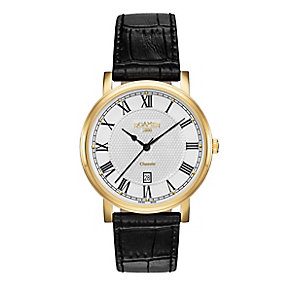 Roamer Men's Gold-plated Classic Silver Strap Watch - Product number 3732843