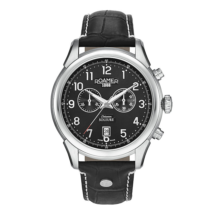 Roamer Soleure Chrono Men's Stainless Steel Strap Watch - Product number 3732878