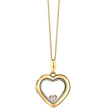 Your Story 9ct Gold Cubic Zirconia Charm Heart Locket - Product number 3733637