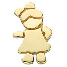 Your Story 9ct Gold Little Girl Charm - Product number 3733688