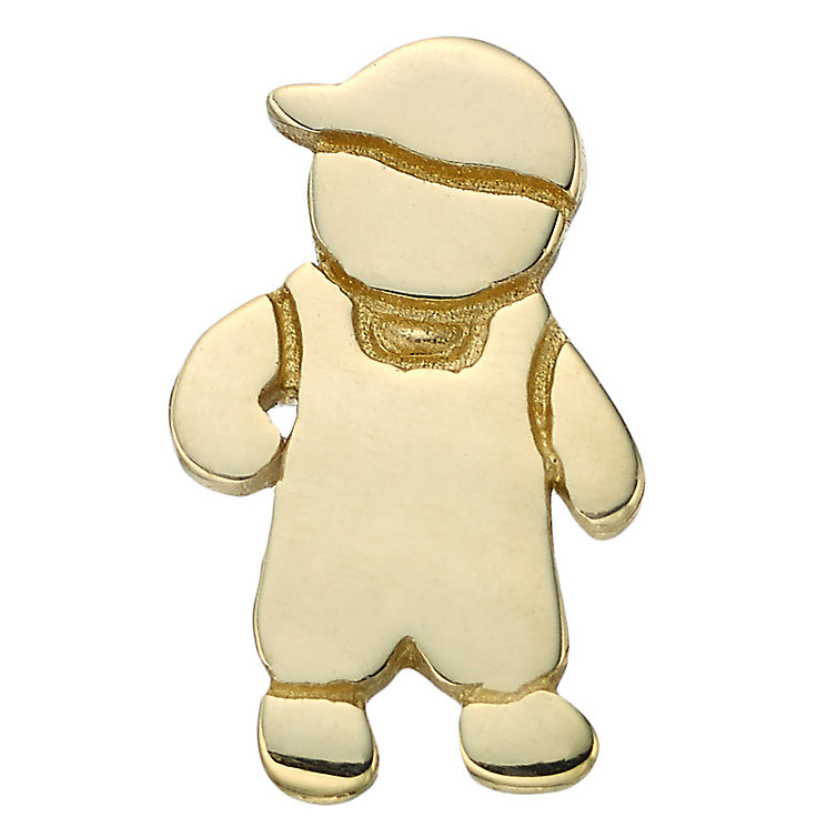 Your Story 9ct Gold Little Boy Charm - Product number 3733696