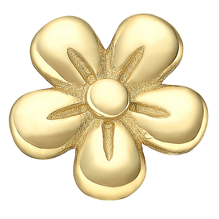 Your Story 9ct Gold Flower Charm - Product number 3733718