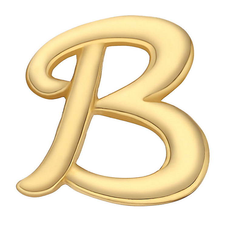 Your Story 9ct Gold 'B' Charm - Product number 3734102