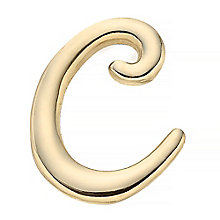 Your Story 9ct Gold 'C' Charm - Product number 3734293