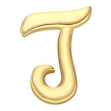 Your Story 9ct Gold 'J' Charm - Product number 3734307
